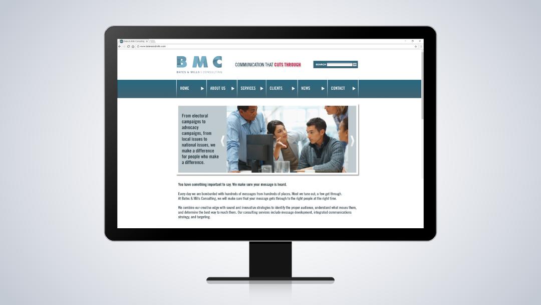 Bates & Mills Consulting Website