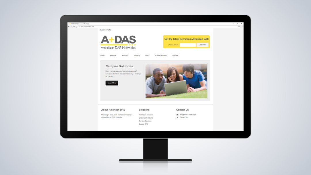 American DAS Website