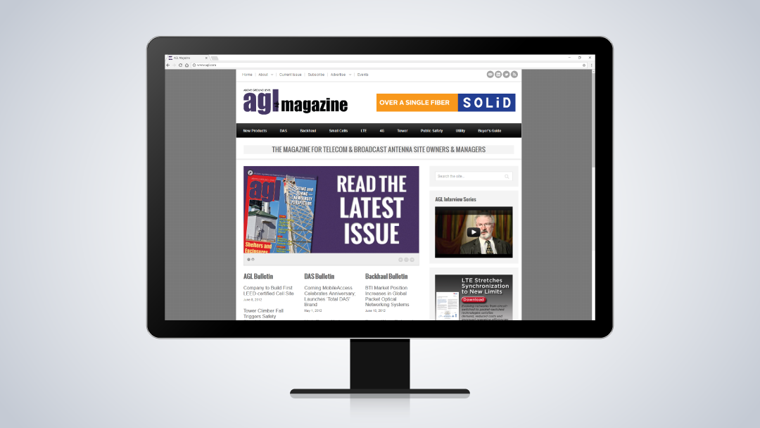 AGL Magazine Website