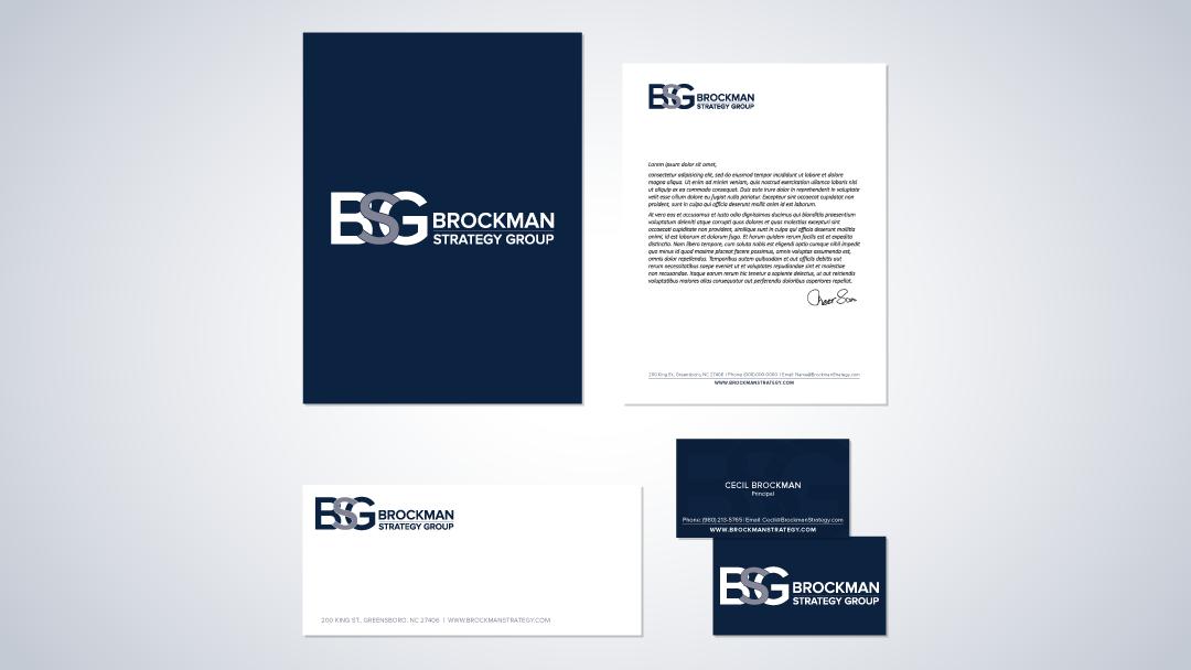 Brockman Strategy Group Brand Identity