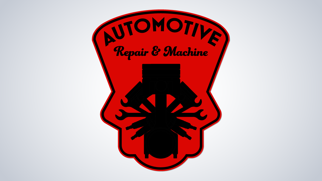 Automotive Repair & Machine Logo