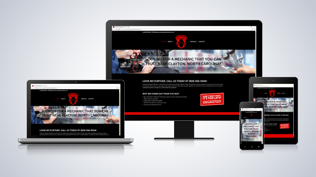Automotive Repair & Machine Website