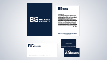 Brockman Strategy Group Brand Identity