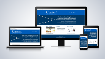 Currier Consulting Group Website
