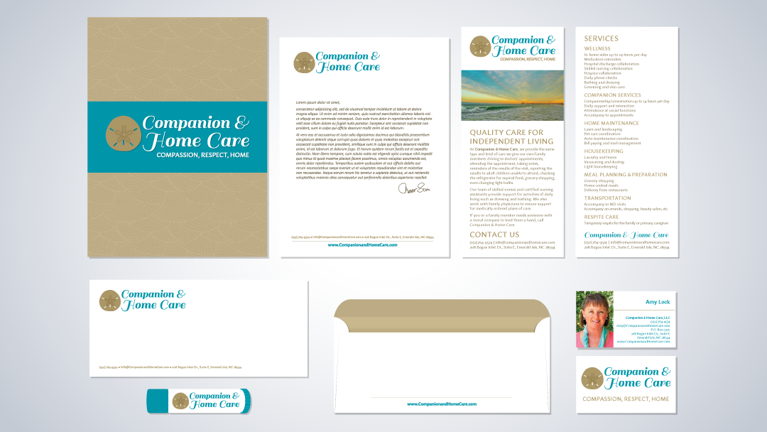 Companion & Home Care Logo & Brand Identity