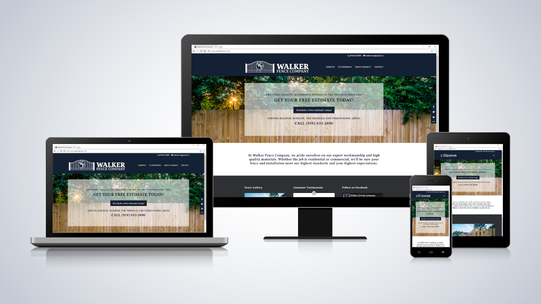 Walker Fence Company Website