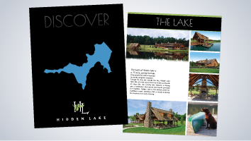 Discover Hidden Lake Brochure
