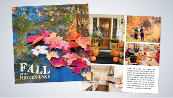 Fall into Hidden Lake Brochure