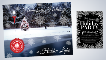 Home for the Holidays at Hidden Lake Brochure